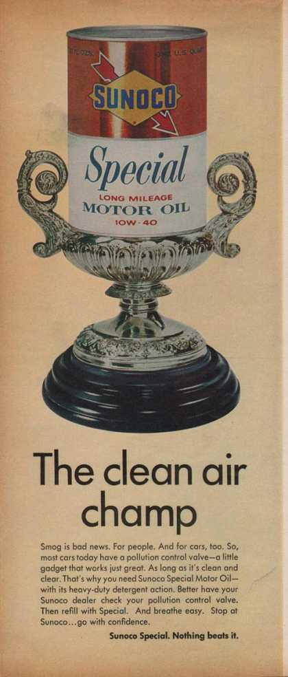 Sunoco Special Long Mileage Motor Car Oil (1969)