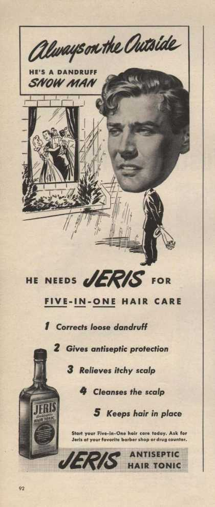 Antiseptic Hair Tonic Jeris (1946)