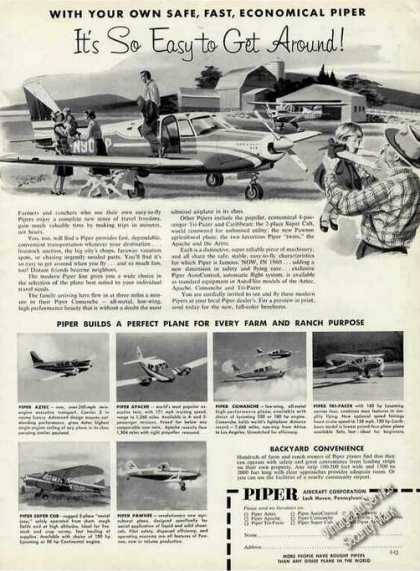 Piper Planes for Farm & Ranch Photos (1960)