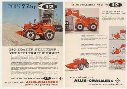 Allis-Chalmers TL-12 Loader 2-Page Photo (1960)