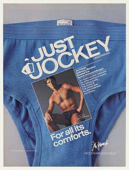 Jim Palmer Jockey Underwear Photo (1987)