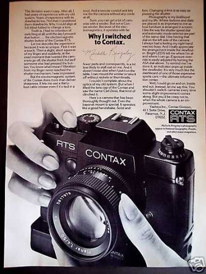 Photographer Michelle Kingsley Contax Camera (1977)