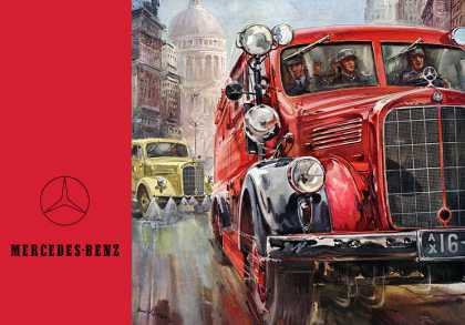 Mercedes-Benz emergency and municipal vehicles 			Hans Liska (1952)