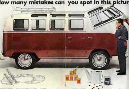 "Vw Volkswagen Station Wagon ""Mistakes"" (1967)"