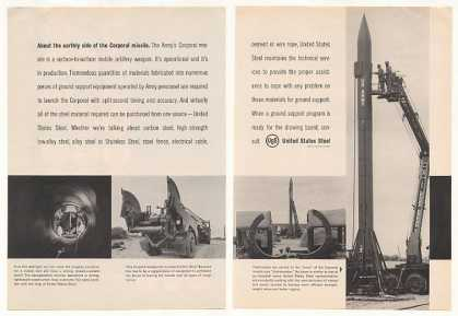 US Army Corporal Missile United States Steel 2P (1959)