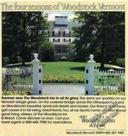 The Four Seasons of Woodstock Inn Vt (1989)