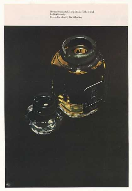 Le De Givenchy Perfume Bottle Photo (1965)