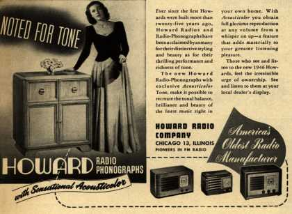 Howard Radio Company's Various – Howard Radio Phonographs with Sensational Acousticolor (1946)