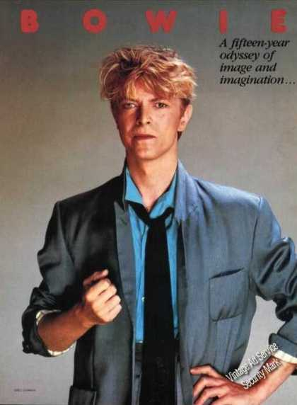 David Bowie Nice Magazine Picture (1983)