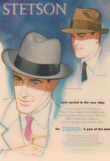 Stetson Hat – The Westport & Ambassador (1952)