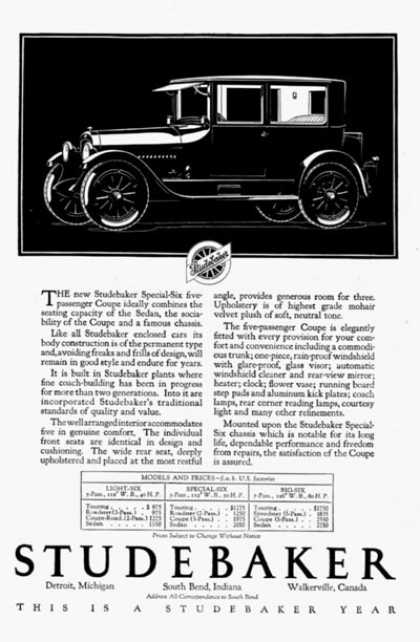 Studebaker Special Six (1923)