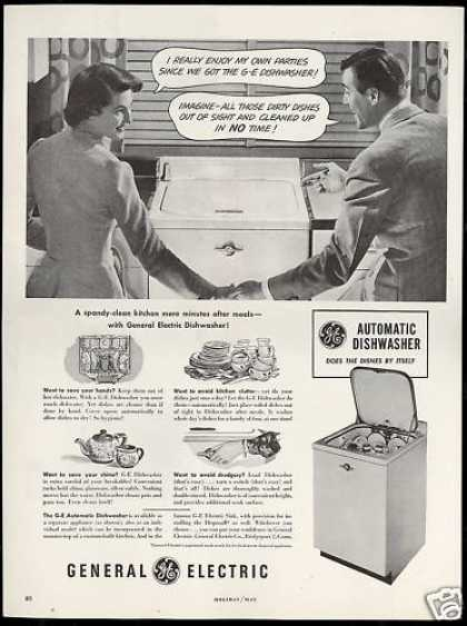 GE General Electric Automatic Dishwasher (1949)