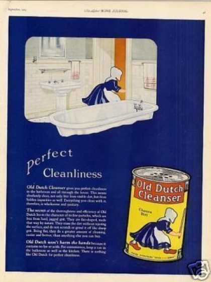 Old Dutch Cleanser (1923)