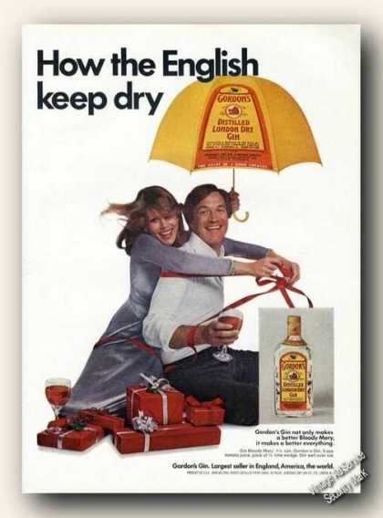 Gordon's Gin How the English Keep Dry Promo (1975)