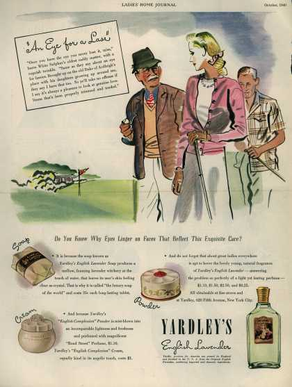 "Yardley of London's Yardley's English Lavender – ""An Eye for a Lass"" (1940)"