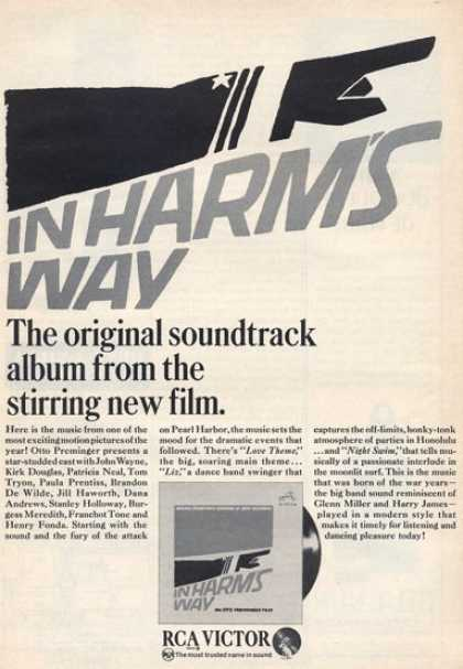 Rca Victor In Harm's Way Soundtrack (1965)