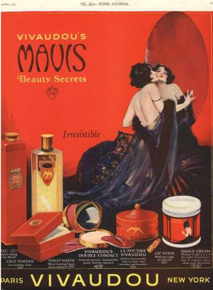 Make-Up Womens Skincare, USA (1920)