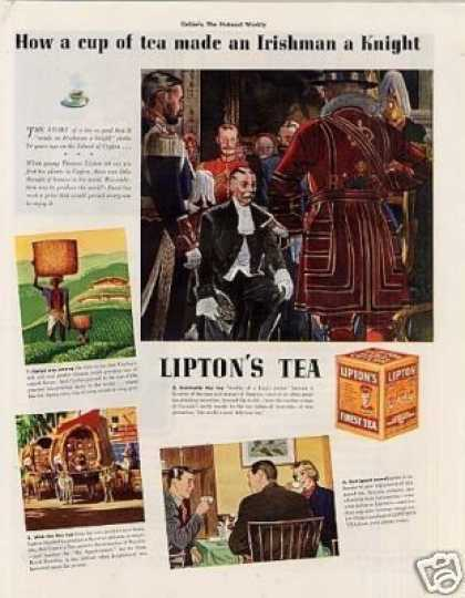 Lipton Tea Color (1938)