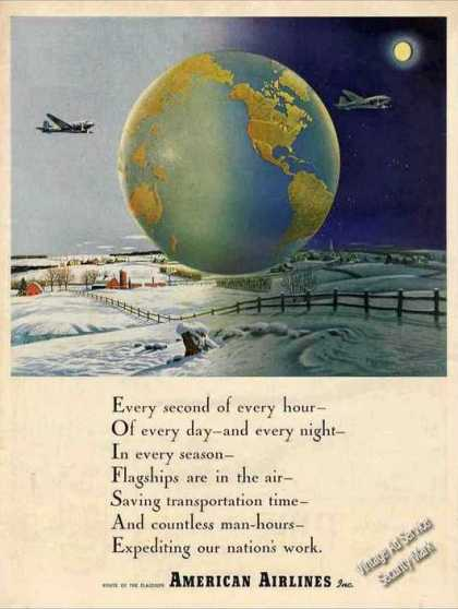 American Airlines Flagships Day & Night (1944)