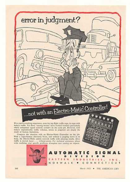 Automatic Signal Traffic Controller (1955)