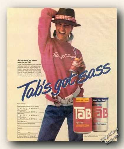 Tab's Got Sass Sweats (1986)