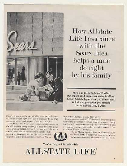 Allstate Life Insurance Sears Idea Man Family (1963)