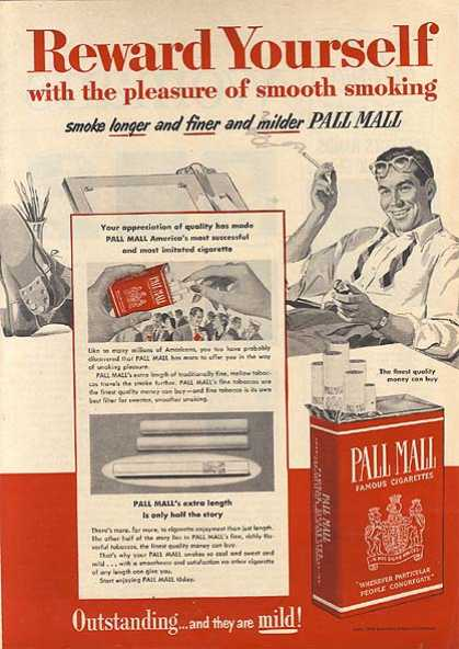 cigarette advertisements in the 1950s essay