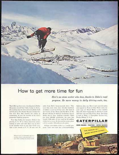 Sun Valley Idaho Dollar Mountain Caterpillar (1956)