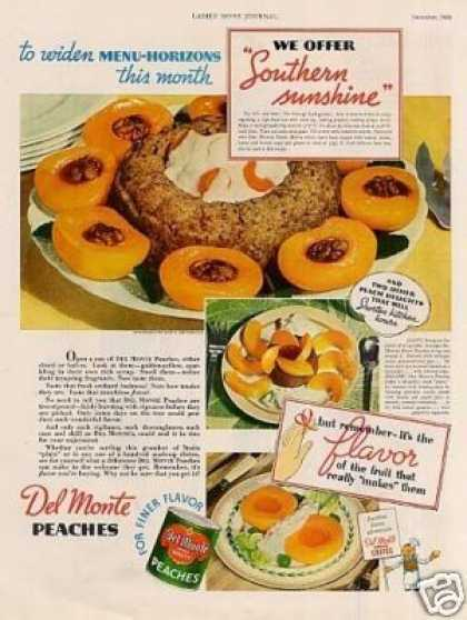 Vintage food advertisements of the 1930s for Cuisine 1930