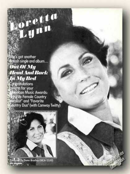 Loretta Lynn Photo Album Promo Ad Music (1978)