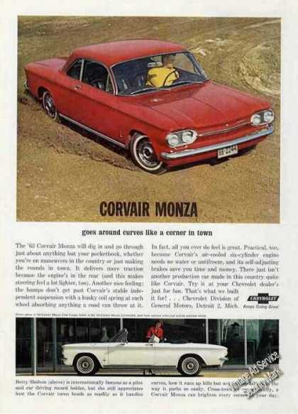 Corvair Monza Club Coupe/convertib (1963)