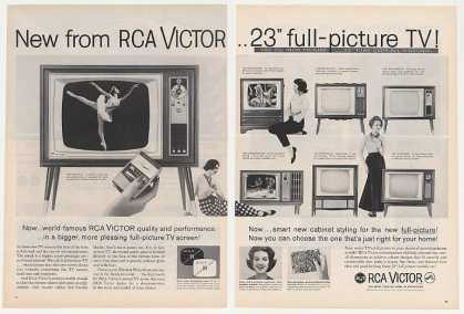 RCA Victor Benfield Warrington Brierhurst TV 2P (1960)