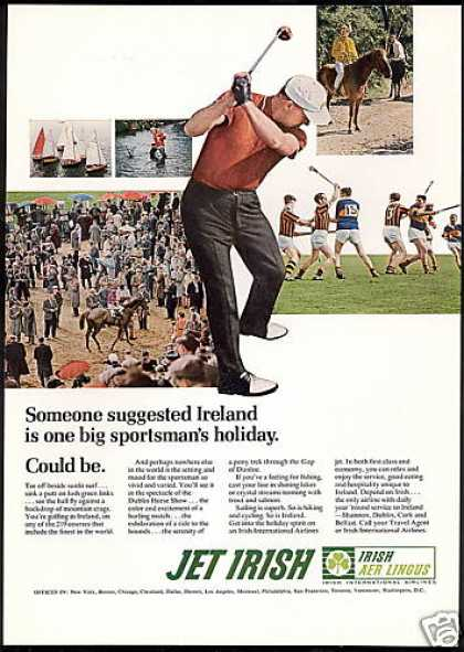 Irish Aer Lingus International Airlines Golf (1968)