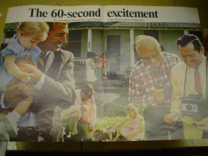Polaroid Camera The 60 second excitement (1968)