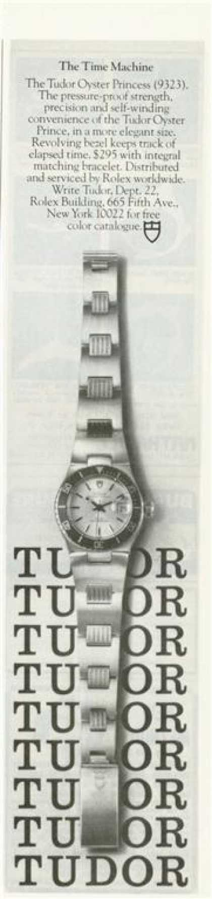 '76 Tudor Dive Watch Oyster Princess T (1976)
