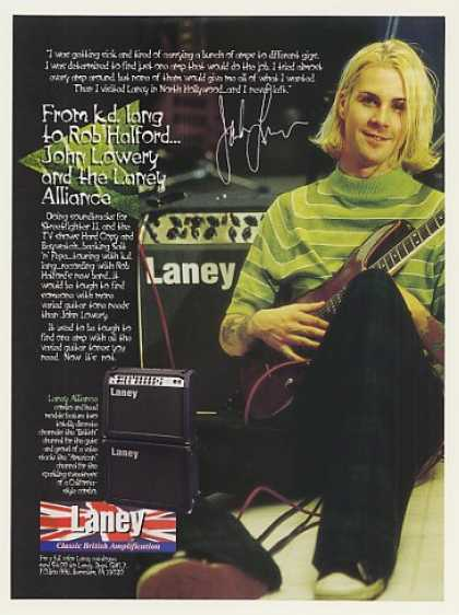 John Lowery Laney Alliance Guitar Amp Photo (1996)
