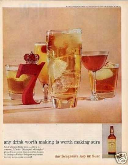 Seagram's 7 Crown Whiskey (1959)