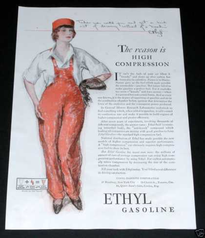 "Old , Ethyl Gasoline, ""Ethyl"" (1929)"