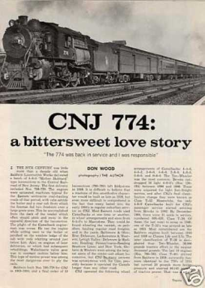 """Cnj 774: A Bittersweet Love Story"" Article (1971)"