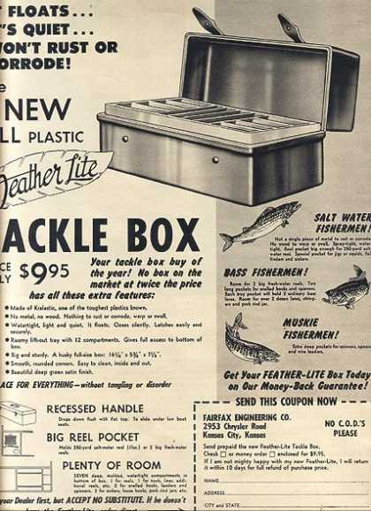 Fairfax Engineering's New All Plastic (1952)
