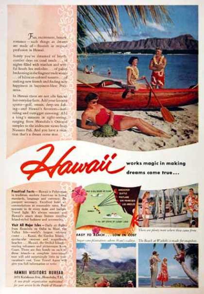 Hawaii Tourism (1955)