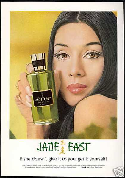 Pretty Woman Jade East After Shave (1969)