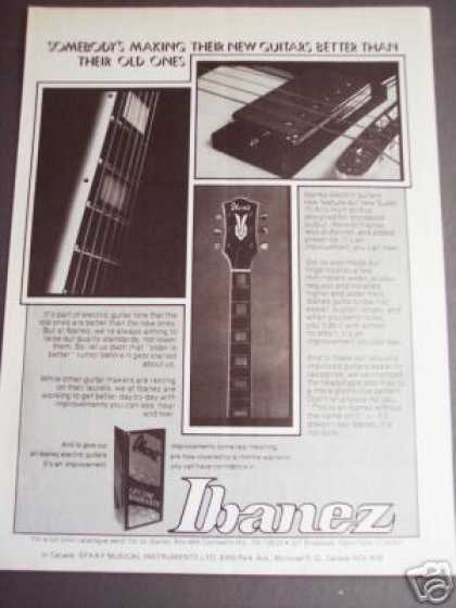 Ibanez Electric Guitar Photo (1976)