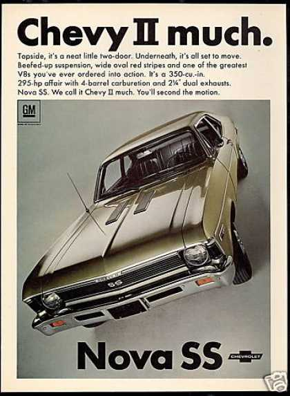 Chevrolet Chevy II Nova SS 350 Car Photo (1968)