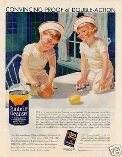 Sunbrite Cleanser Color (1932)