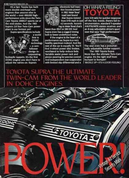 "Toyota Supra ""Ultimate Twin-cam"" Car (1983)"