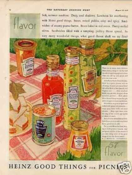Heinz Products Color (1928)