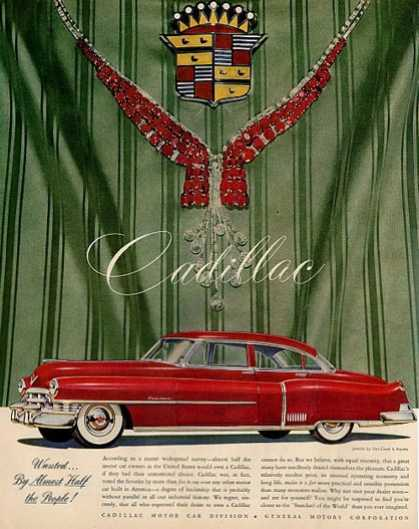 Cadillac Car Jewels By Van Cleef & Arpels (1950)