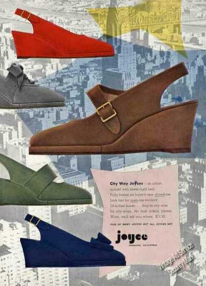 City Way Joyce Shoes Pasadena Ca (1950)