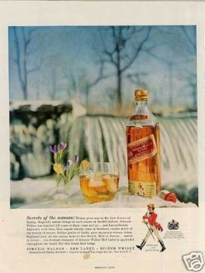 Johnnie Walker Scotch Whiskey (1957)